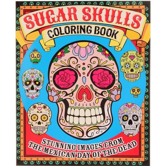 - Arcturus Publishing Office Sugar Skulls Coloring Book Poshmark